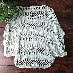 Crocheted slouchy top